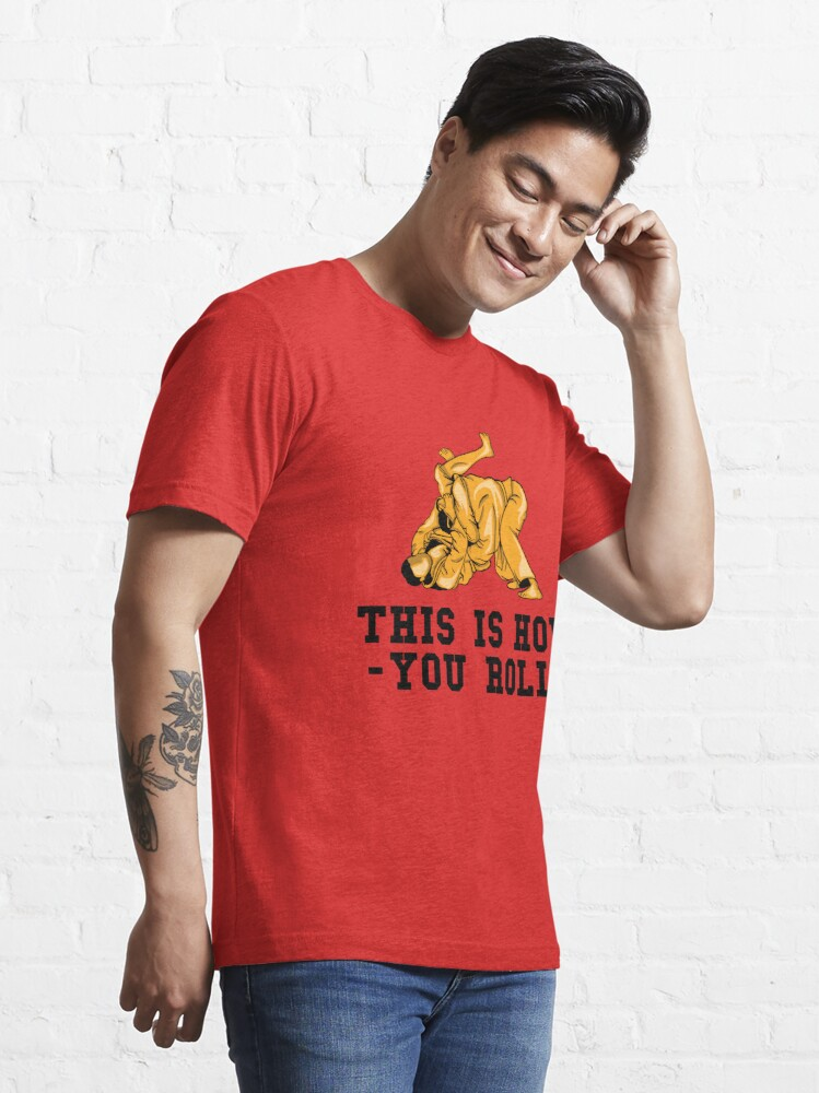 Alternative Ansicht von This Is How You Roll - Martial Arts Gift Essential T-Shirt