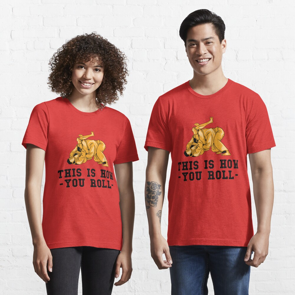 This Is How You Roll - Martial Arts Gift Essential T-Shirt