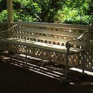 Lattice Bench by ScenerybyDesign