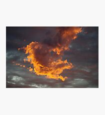 Dragon Fire Photographic Print