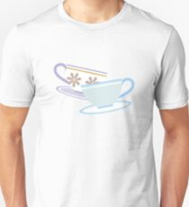 Mad Tea Party Teacups - Purple & Blue Unisex T-Shirt