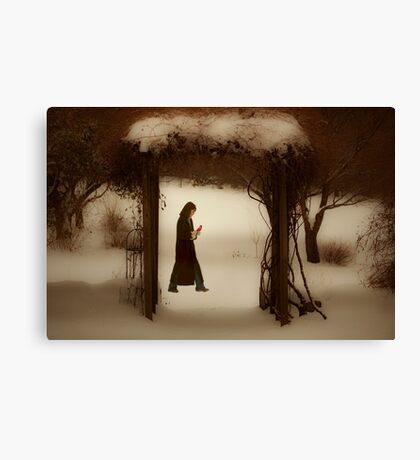 If on a winter's night Canvas Print