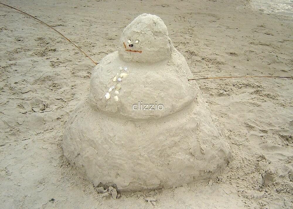 Frosty the Sandman? by clizzio
