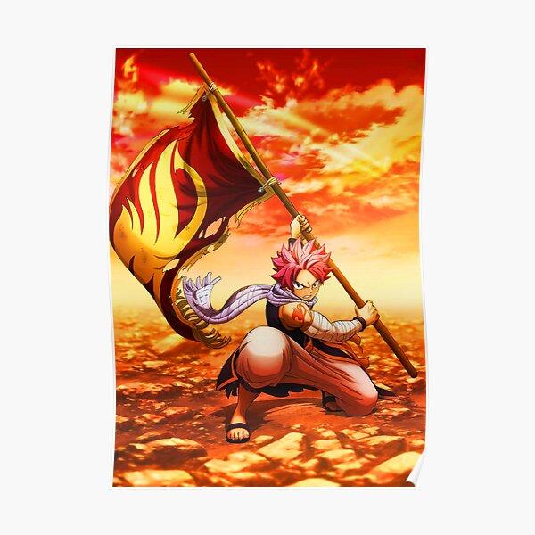 Queue de fée natsu Poster