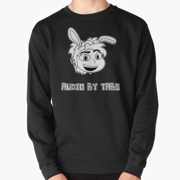 Audio by Tabs (black & white) Pullover Sweatshirt
