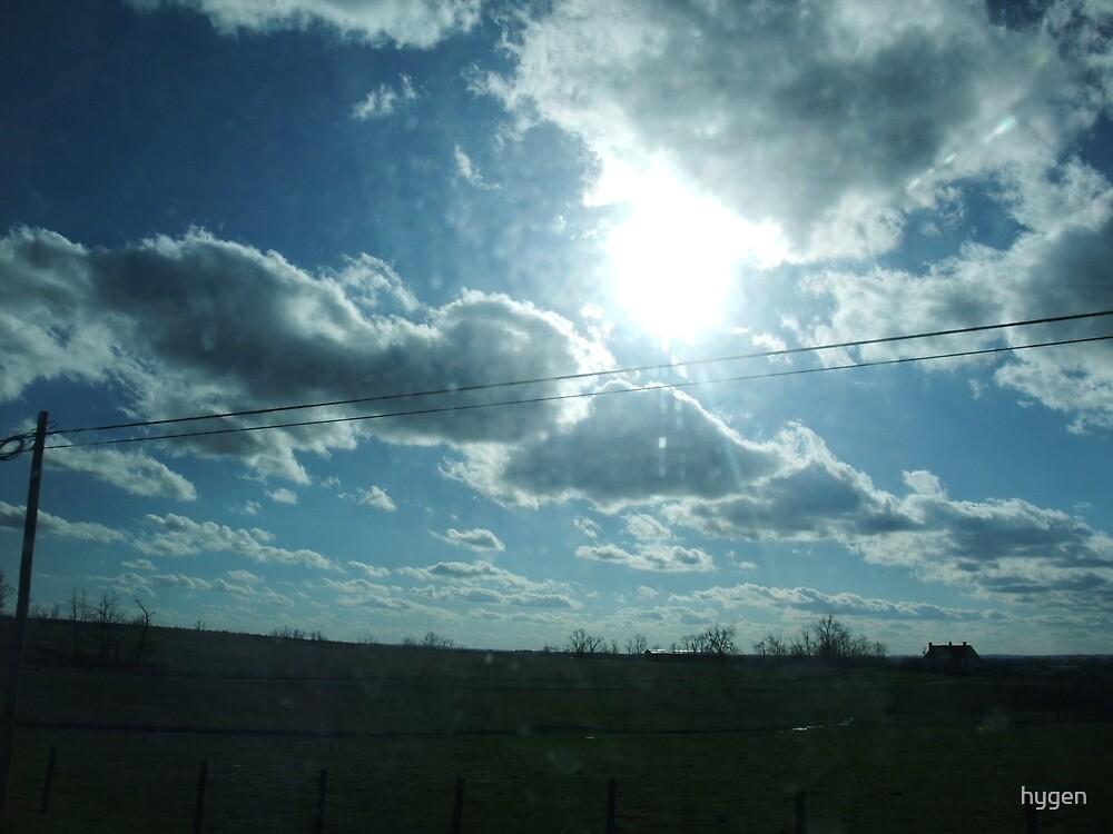 Kentucky Winter Clouds by hygen