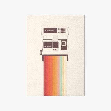 Instant Camera Rainbow Impression rigide