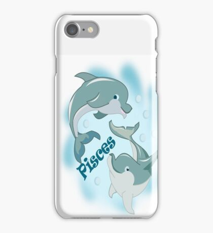 Pisces(Dolphin) (2991 Views) iPhone Case/Skin