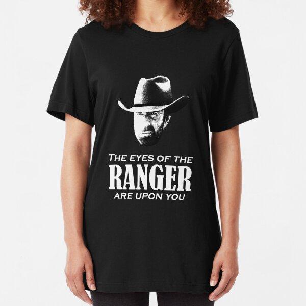 Walker Texas Ranger Merchandise (Chuck Norris) Slim Fit T-Shirt