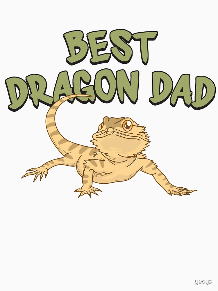 Best Dragon Dad - Funny Reptile Gift von yeoys