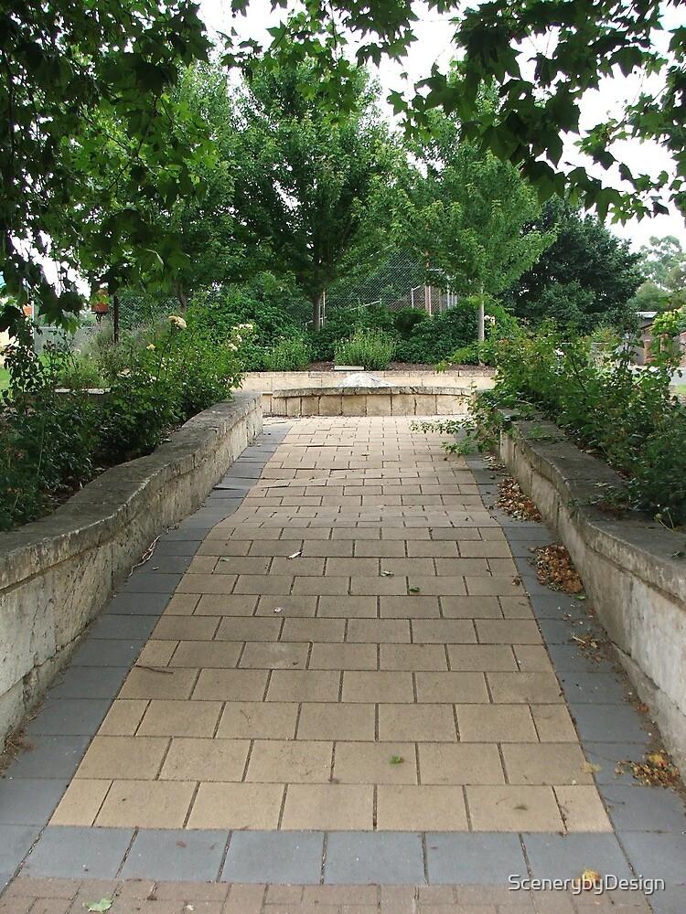 Terraced Garden by ScenerybyDesign