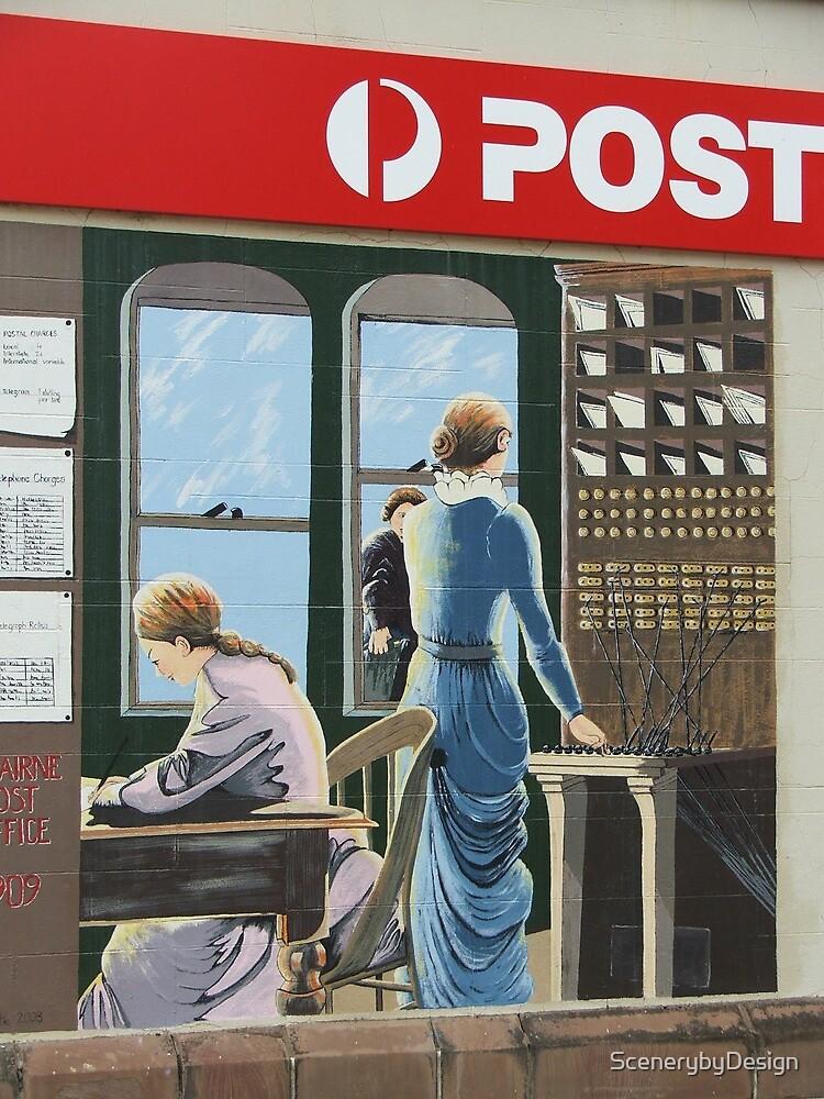 Postal Mural by ScenerybyDesign