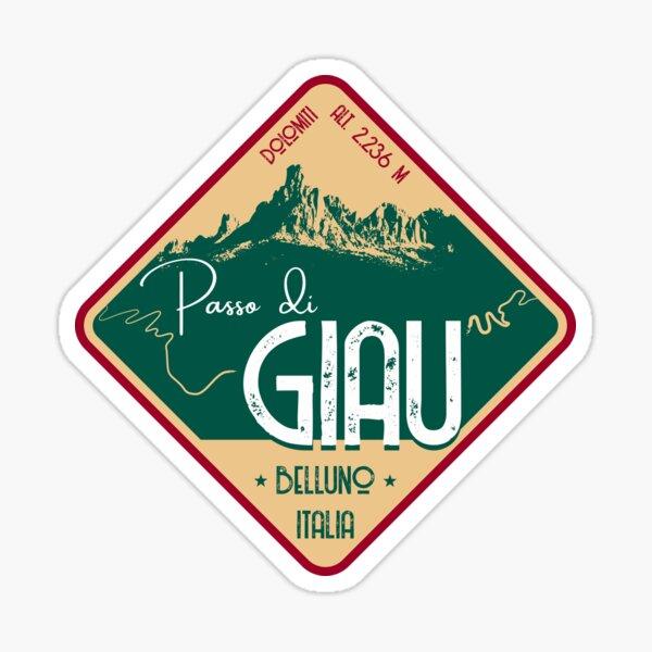 Passo Di Giau Italian Alps T-Shirt + Sticker Sticker