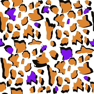 Modern Abstract Leopard Skin Print by Artification