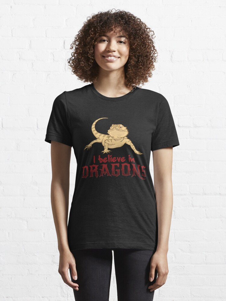 Alternative Ansicht von I Believe In Dragons - Funny Reptile Gift Essential T-Shirt
