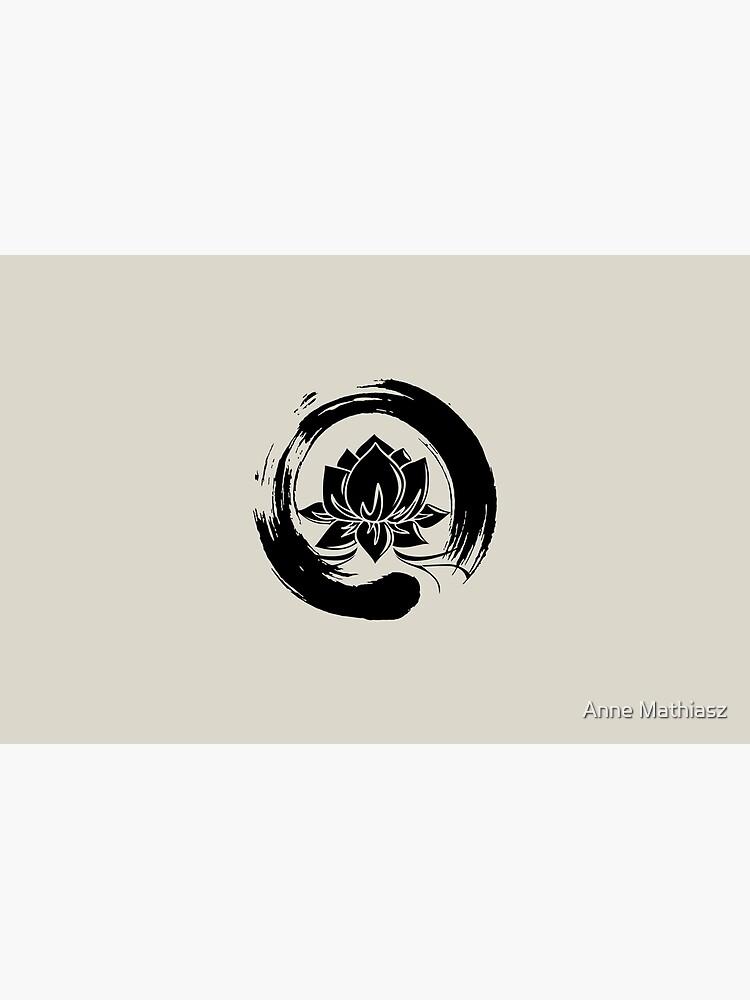 Enso Zen Lotus by nitty-gritty