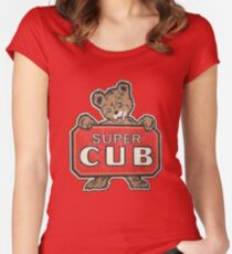 Super Cub Women's Fitted Scoop T-Shirt
