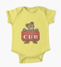Body de manga corta para bebé Super Cub