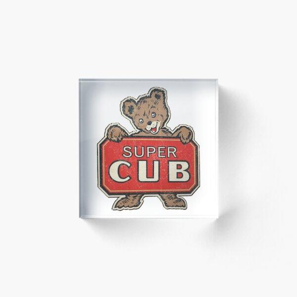 Super Cub Acrylic Block