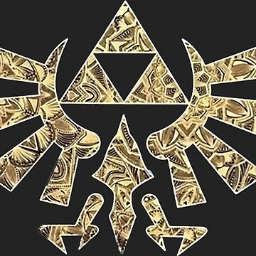 Zelda Triforce Symbol by christopper