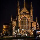 Winchester Cathedral at Christmas  by IanWL