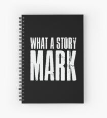 What A Story Mark Spiral Notebook