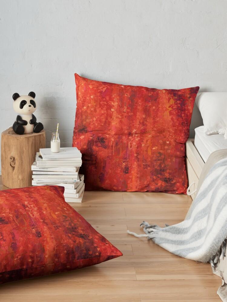 Alternate view of Dream of Colors Floor Pillow