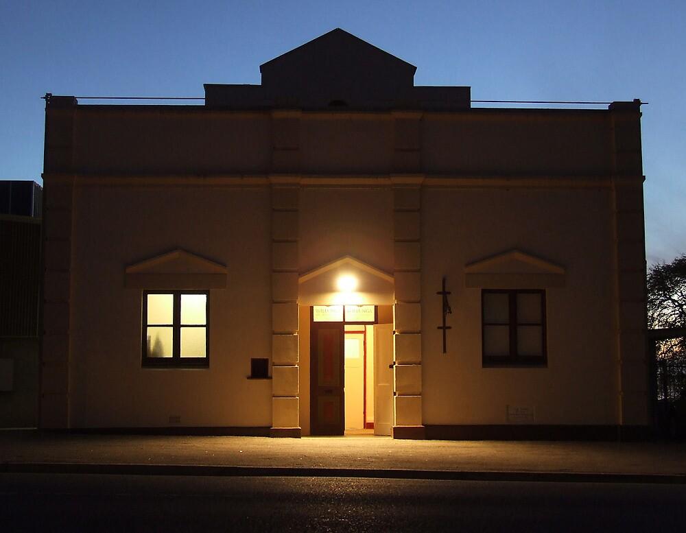 Town Hall - Willunga, South Australia by Carissa Hubrechsen