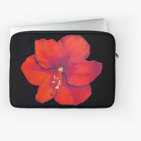 Red Hibiscus - Tropical Dream Laptop Sleeve