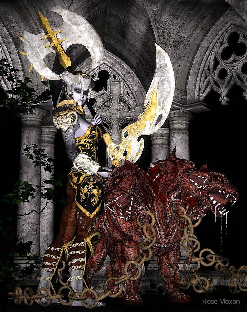 Heavy Metal by Rose Moxon