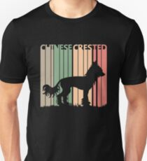 Chinese Crested Dog Silhouette Unisex T-Shirt