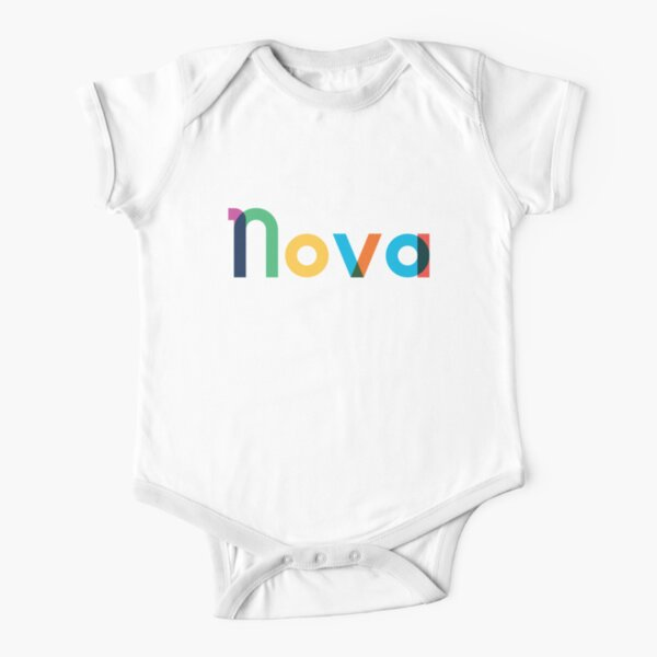 Hello My Name is Nova Personalized Name Toddler//Kids Short Sleeve T-Shirt