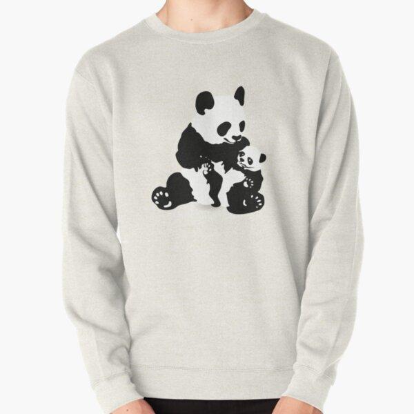 Bamboo Design Bear Gift Idea Funny China Theme Panda Squad Hoodie