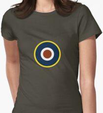 Spitfire Marking Yellow. Women's Fitted T-Shirt