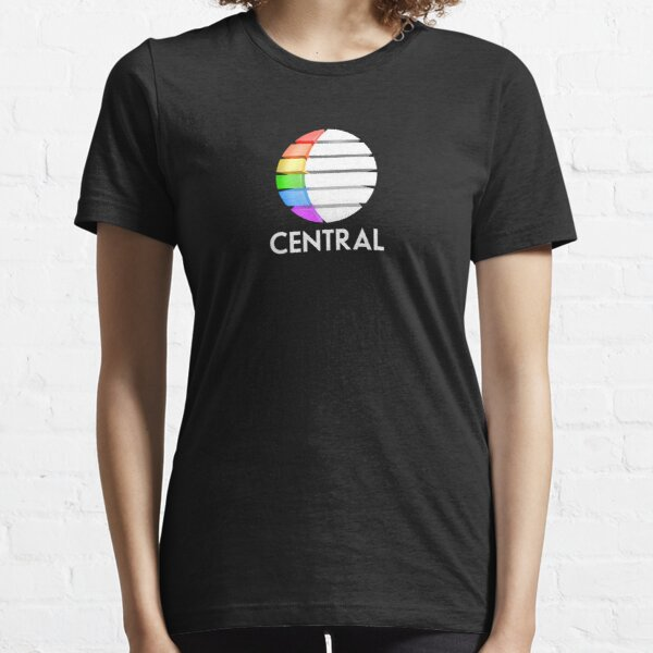 Central TV television 1980s retro logo 3D render  Essential T-Shirt