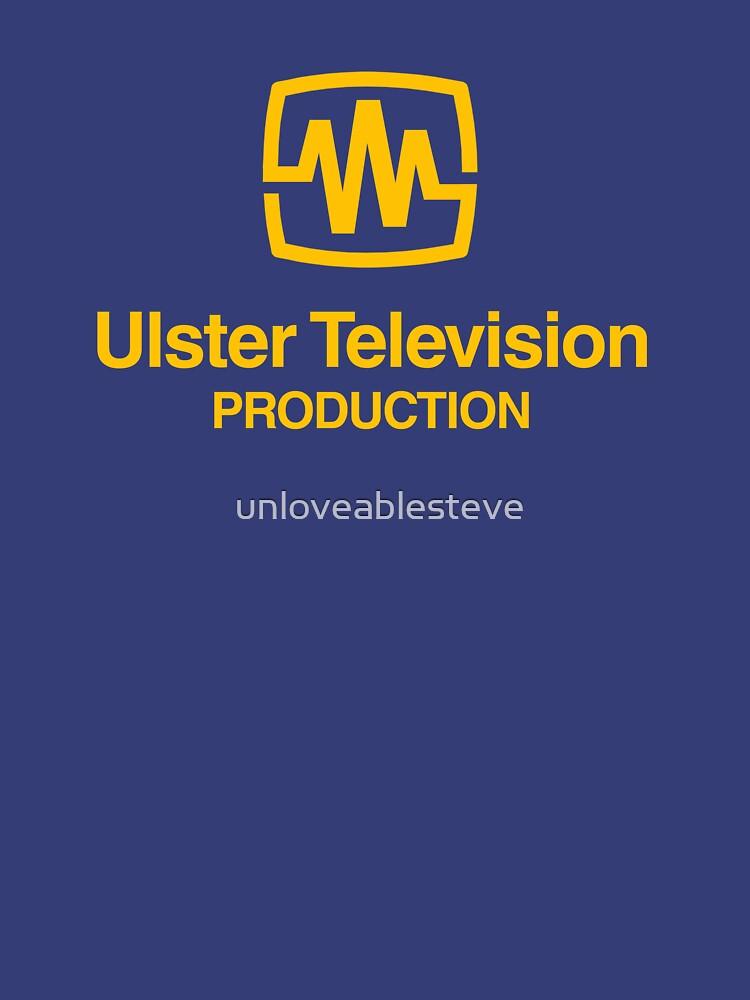 UTV Ulster television retro logo  by unloveablesteve