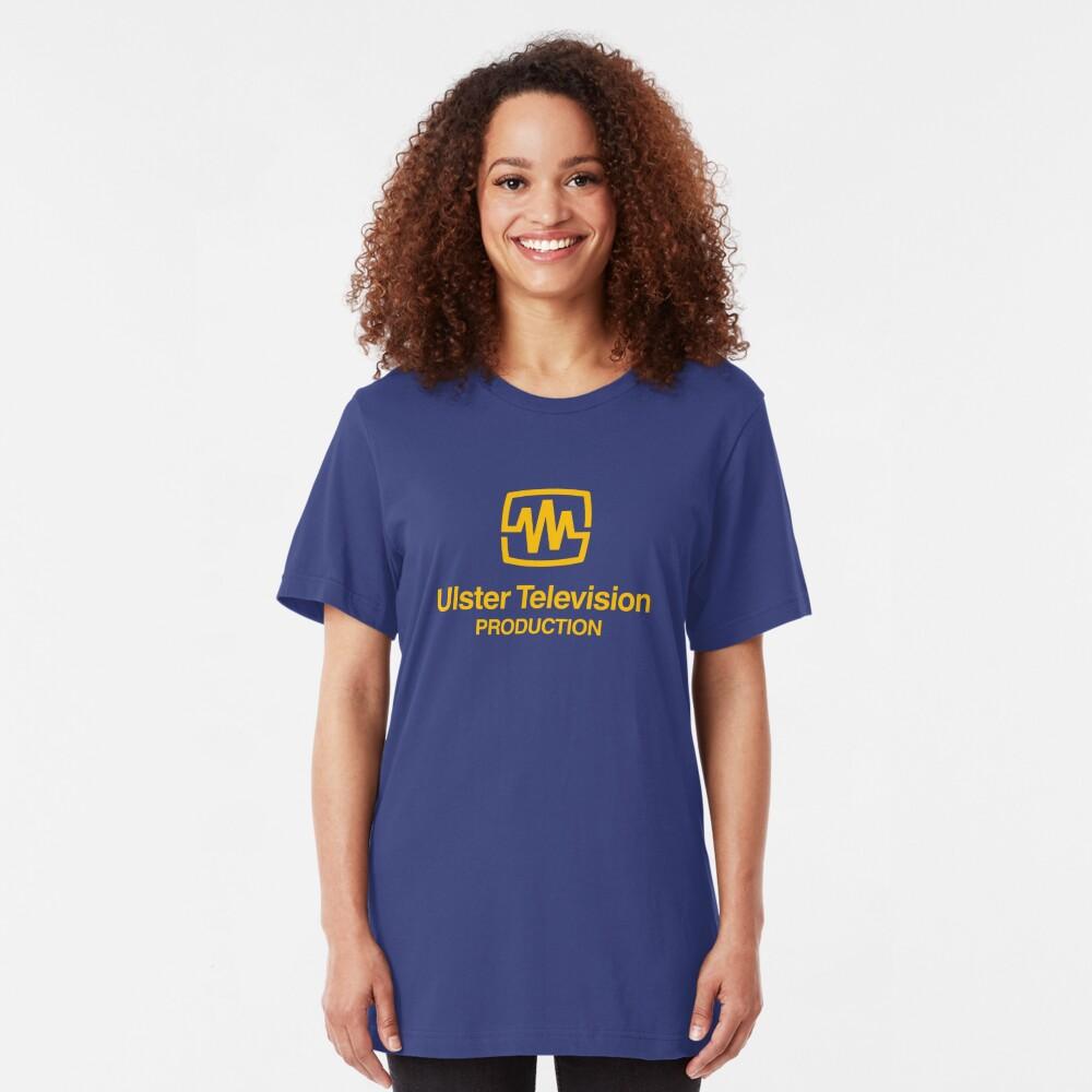 UTV Ulster television retro logo  Slim Fit T-Shirt
