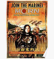 Das MCRN-Rekrutierungsplakat für die Weite Poster