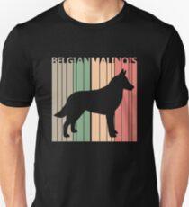 Belgian Malinois Dog Silhouette Unisex T-Shirt