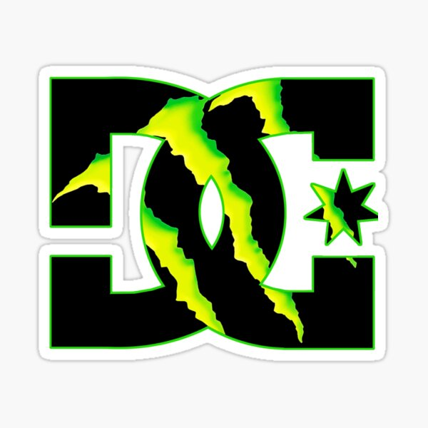 DC logo Sticker