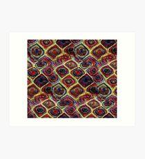 Crochet  Art Print