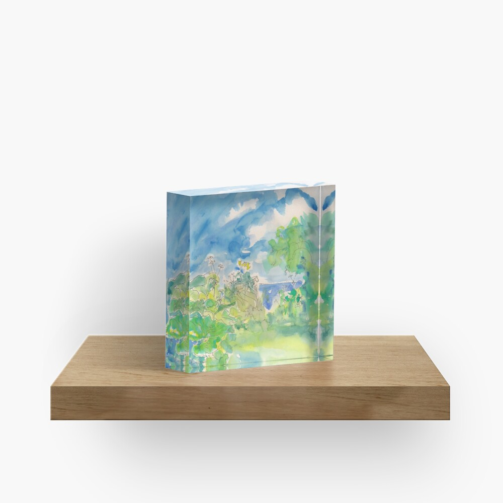 Funnily Enough by Sophie Neville -  Acrylic Block