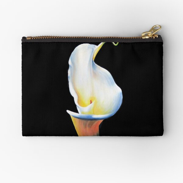 Delicate Lilly Zipper Pouch