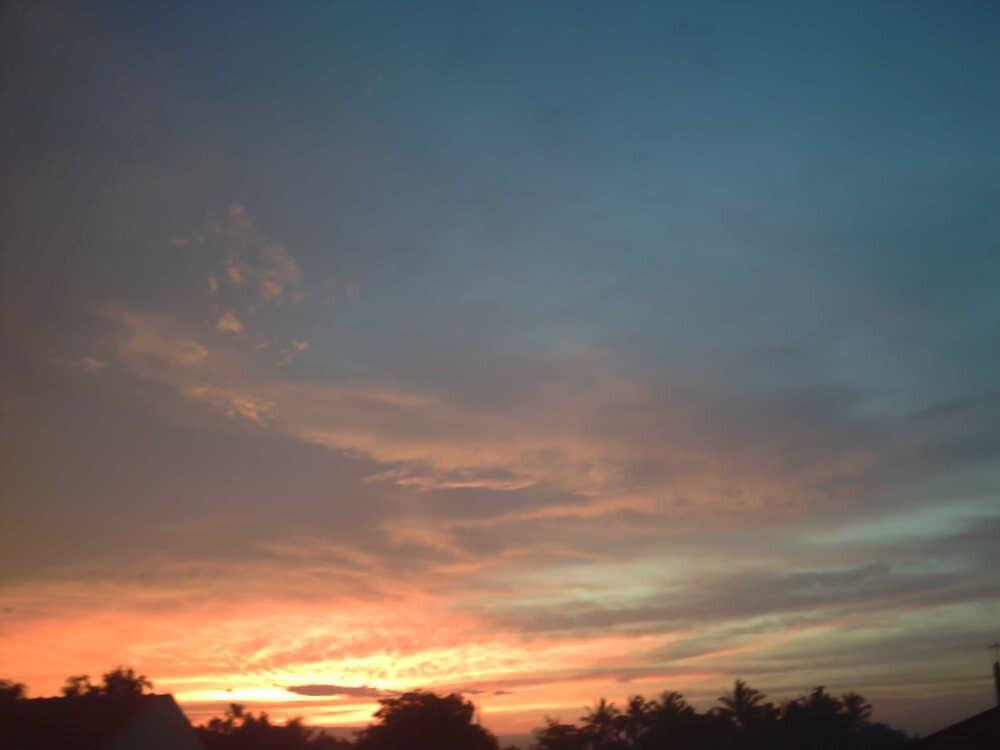 sunset by yanyan nurdiansyah