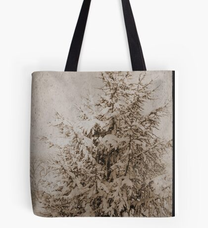 Old Xmas Tree Tote Bag