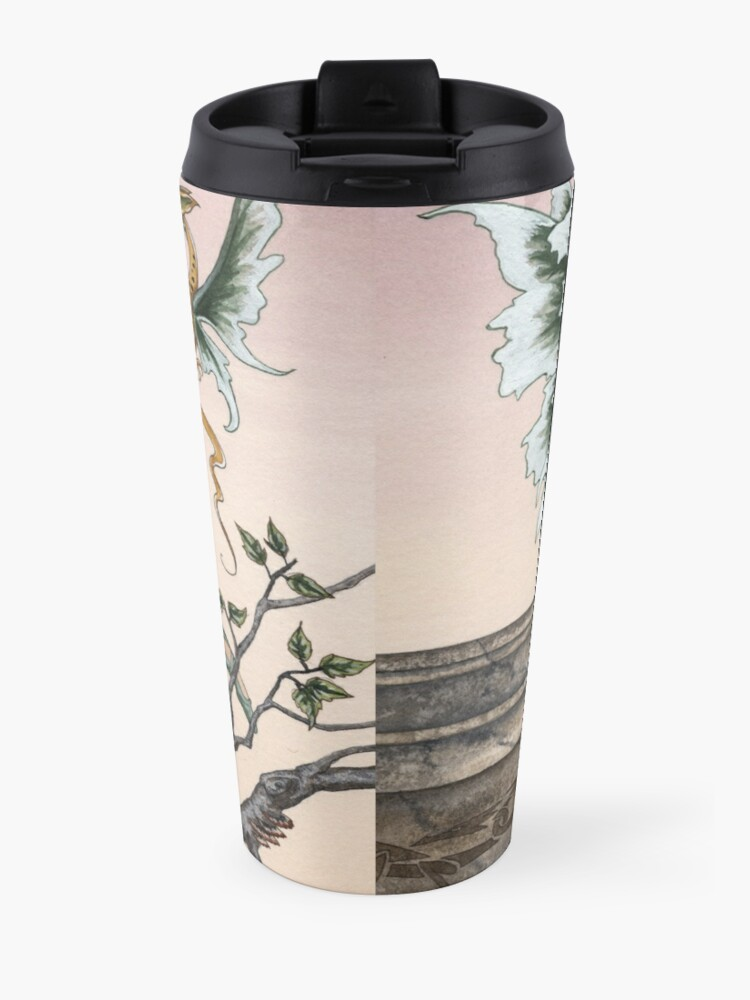 Alternate view of Golden Dragons Travel Mug