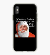 Naughty or Nice iPhone Case