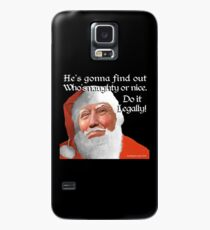 Naughty or Nice Case/Skin for Samsung Galaxy