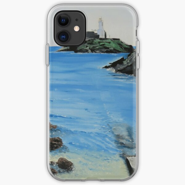 Lighthouse approach iPhone Soft Case