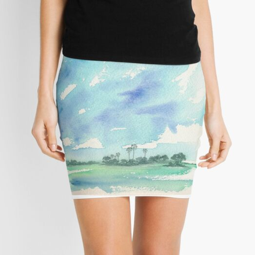 Ride the Wings of Morning by Sophie Neville - Mini Skirt